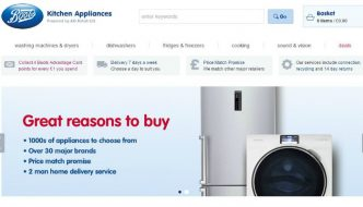 Boots Kitchen Appliances: Collect 4 Points for Every £1 Spent