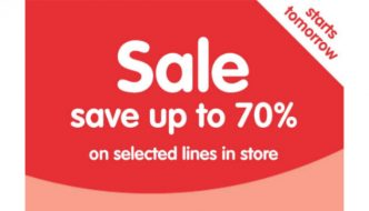 Boots 70% off sale starts on 20 January
