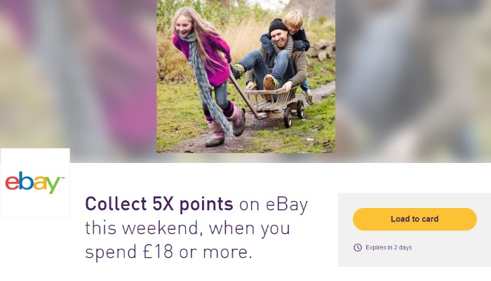 Collect 5X Nectar Points on eBay this Weekend Only