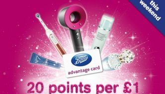 Happy Birthday Advantage Card (Collect 20 Points per £1 to Celebrate)